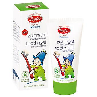 Topfer Toothpaste for Children Bio, 50 Ml (Childhood , Dental hygiene , Toothpaste)