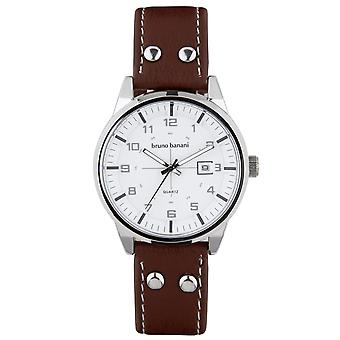 Bruno Banani watch wristwatch ob leather analog BR30007