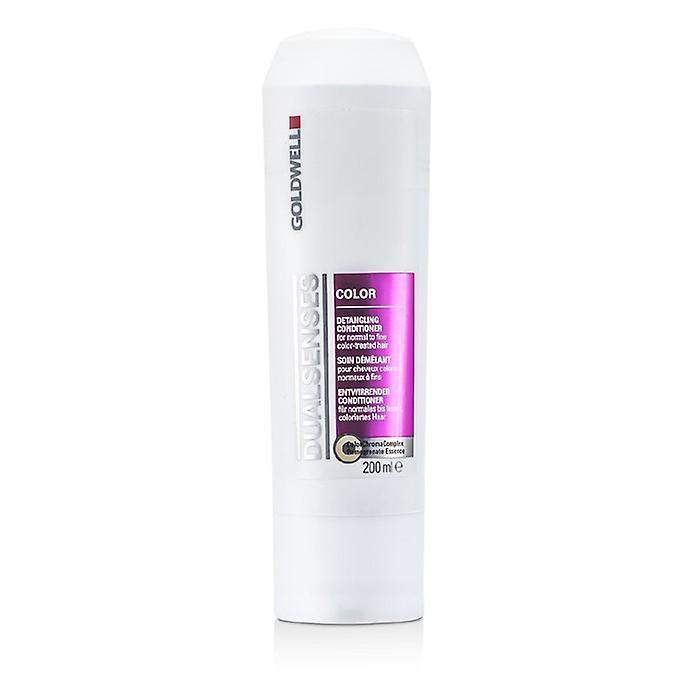 Goldwell Dual Senses Color Detangling Conditioner (für normale bis feine Haar Farbe behandelt) 200ml / 6.7 oz