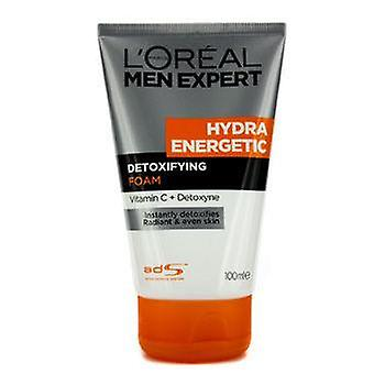 L ' Oréal Men Expert Hydra energetische ontgiftende Foam - 100ml / 3.4 oz