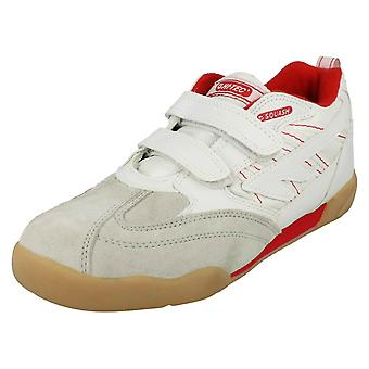 Girls Hi-Tec Casual Trainers Squash JR