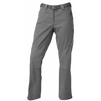 Montane Womens Terra Ridge Pants Short Leg Mercury (Size UK 16)