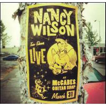 Nancy Wilson - Live på McCabes' Guitar Shop [CD] USA import