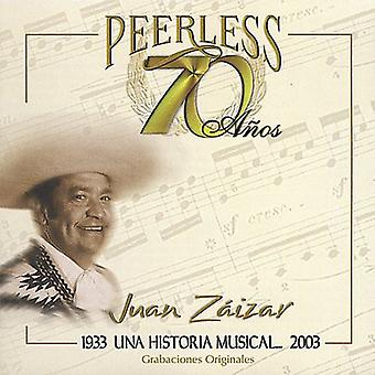 Juan Zaizar - 70 Anos Peerless Una Historia Musical [CD] USA import