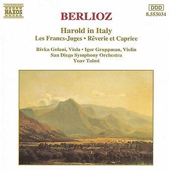 H. Berlioz - Berlioz: Harold i Italia; Les franc - Juges; R Verie Et Caprice [DVD] USA import