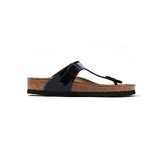 Black Birkenstock 04 661 Gizeh (regular Fit)  Black