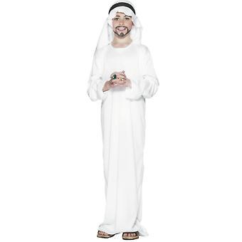 Sheik kostyme barn arabiske Orient drakt