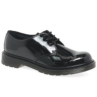 Dr. Martens Everlay 3 Eye Girls Senior School Shoes