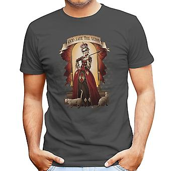 Suicide Squad God Save Quinn Herren T-Shirt