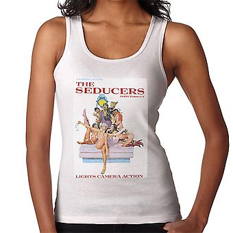 The Seducers Directors Cut Adult Movie Poster Women's Vest