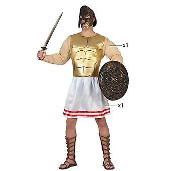 Traje de Guerrero griego de los trajes de los hombres