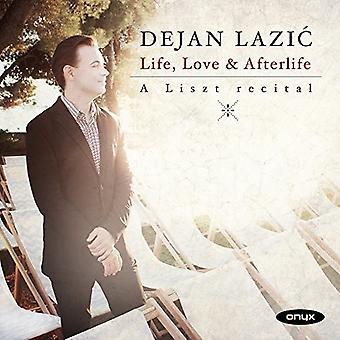 Dejan Lazic - liv & kærlighed & efterliv: A Liszt betragtning [CD] USA import
