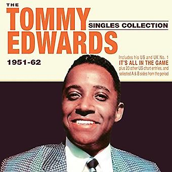 Tommy Edwards - Edwards Tommy-Singles Collection 1951 [CD] USA import