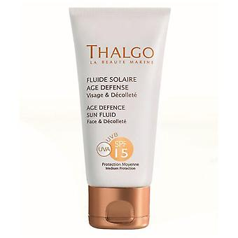 Thalgo Age Defense Sun Fluid Spf15 50 Ml (Woman , Cosmetics , Sun Care , Protectors)