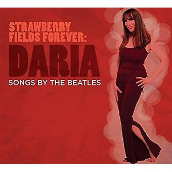 Daria - Strawberry Fields Forever - sange af the Beatles [CD] USA importerer