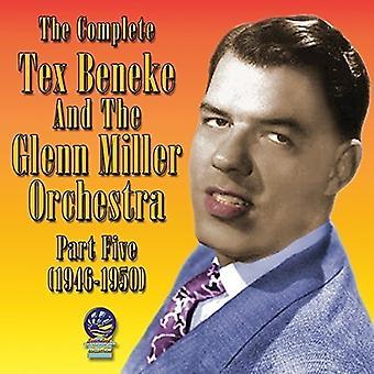 Tex Beneke orkester - Tex Beneke orkester: Komplet Tex Beneke og Glenn Miller Orchestra [CD] USA importen