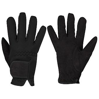 QHP Avatar Black Gloves (Horses , Rider equipment , Accessories , Glothes)