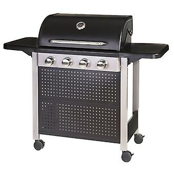 LDK Barbecue Birgitt Gas 4 branders Birgitt staal 82149 (tuin, barbecue, barbecue)