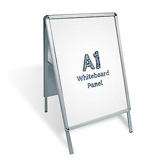 A1 A-Board bestrating Sign - Whiteboard invoegen