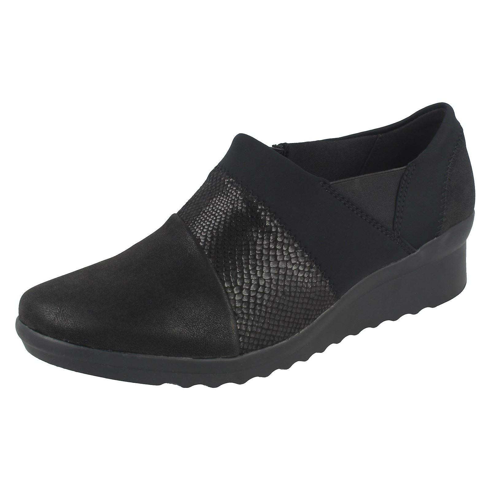 Ladies Cloudsteppers by Denali<big Clarks Wedge Heeled Shoes Caddell Denali<big by Ausver buy<Man's/Woman's b4a614