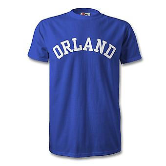 Orland College stijl T-Shirt