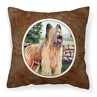 Carolines Treasures  7003PW1414 Briard Fabric Decorative Pillow