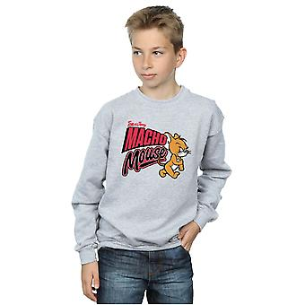 Tom And Jerry Boys Macho Mouse Sweatshirt