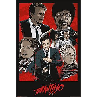 تارانتينو XX-طباعة الملصق الملصق ورقة واحدة