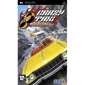 Crazy Taxi Fare Wars PSP Game
