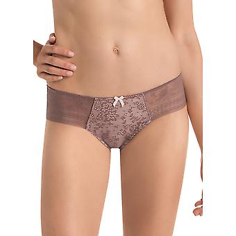 Rosa Faia 1353.1-769 Women's Fleur Berry Pink Floral Lace Knickers Panty Full Brief