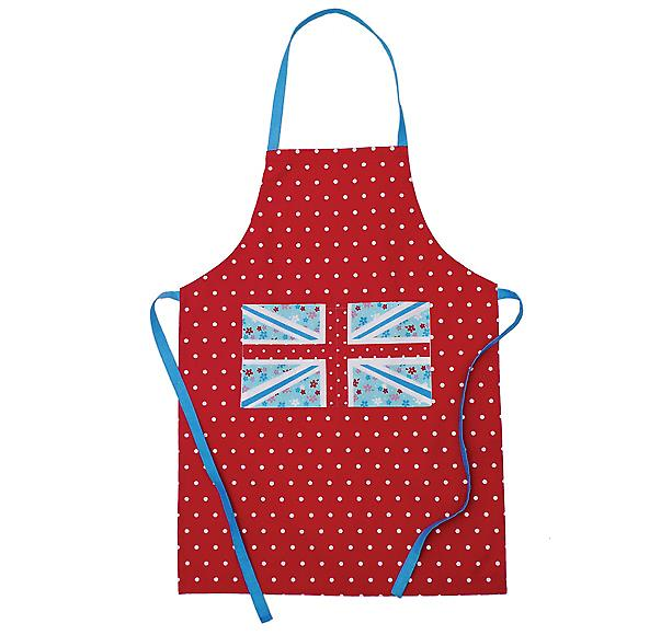 Union Jack Apron - 100% cotton
