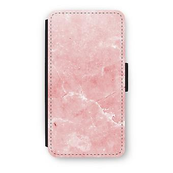 iPod Touch 6 Flip Case - Pink Marble