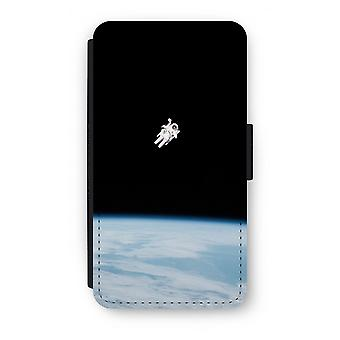 Samsung Galaxy S6 Edge Flip Case - alleen in de ruimte