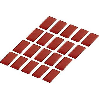 Adhesive strips RTS Red (L x W) 50 mm x 25 mm Conrad Components