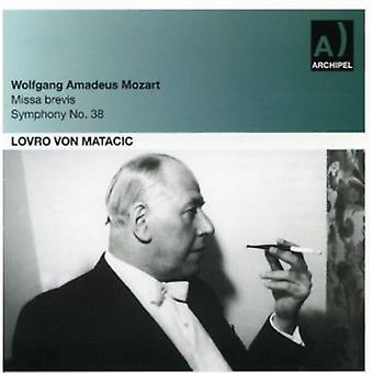 Mozart/Haydn - Mozart: Missa Brevis; Symfoni No. 38 [CD] USA importerer