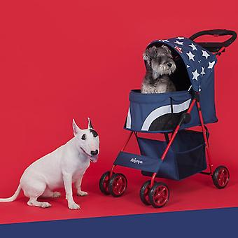 Ibiyaya Pop Art Pet Stroller Starlit Captain
