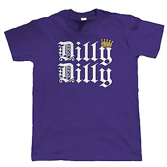 Dilly Dilly, Mens Funny Beer Slogan T Shirt