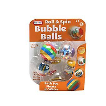 Czas zabawy Roll i Spin Bubble aktywność kulki