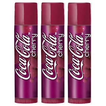 Lip Smacker  Lip Balms - Choose any 3 flavours[Coca Cola Cherry,Coca Cola Cherry,Coca Cola Cherry]