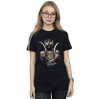 Marvel Frauen Black Panther Nakia Poster Freund Fit T-Shirt