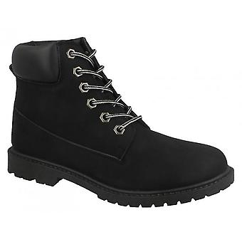 Spot On Womens/Ladies Military Combat Ankle Boots