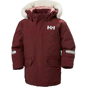 Helly Hansen Boys & Girls Isfjord Waterproof Down Parka Jacket Coat