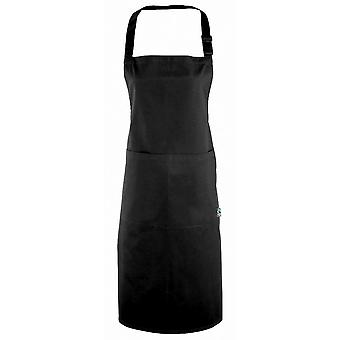 Premier Mens & Womens/Ladies Fairtrade Cotton Hospitality Bib Apron