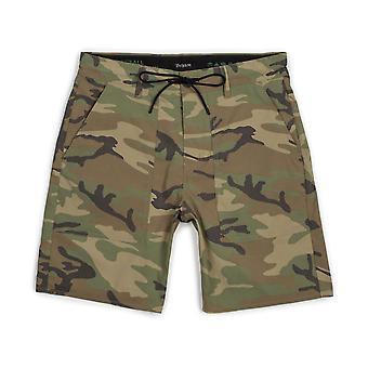 Brixton Prospect Service Camo Shorts
