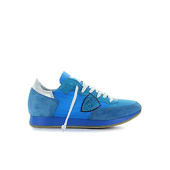 PHILIPPE MODEL TROPEZ NEON BLUE SNEAKER
