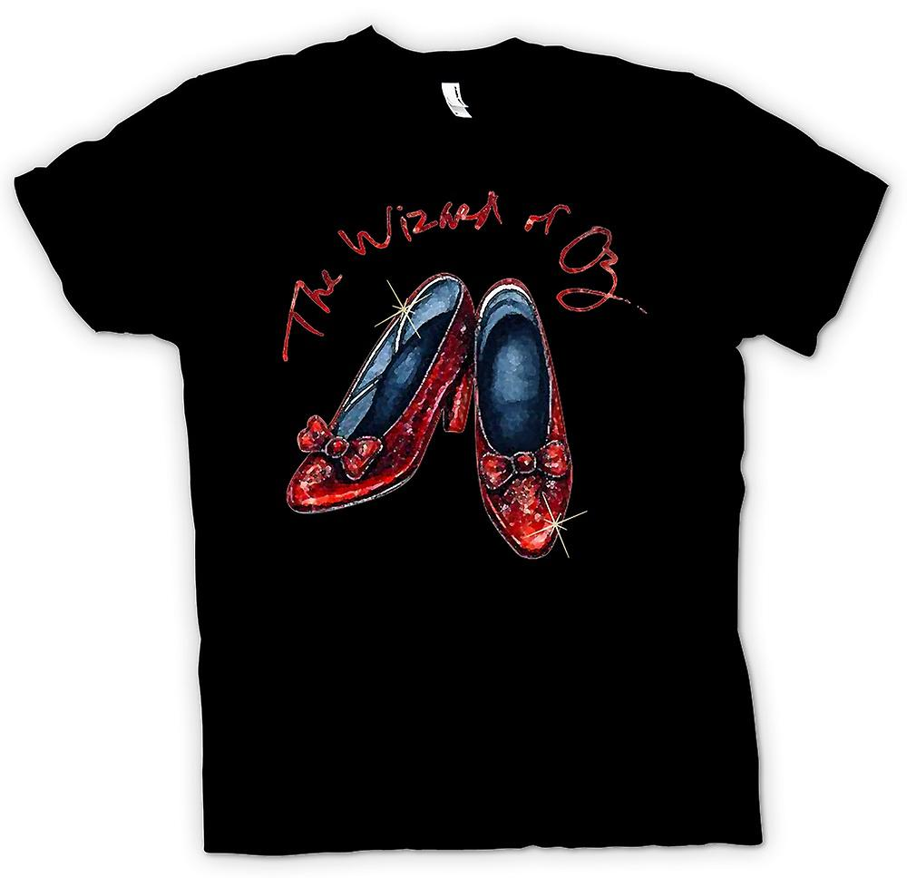 Womens T-shirt - Dorothy Red Shoes - Wizard Of Oz