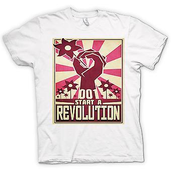Womens T-shirt - Start A Revolution - Cool Design