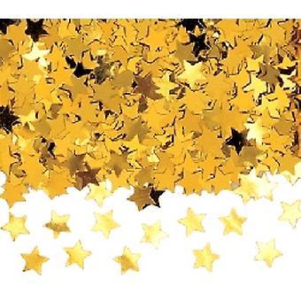 Konfetti gull Jumbo stjerner Kjøp 1 få andre gratis (2 x bag 84g)