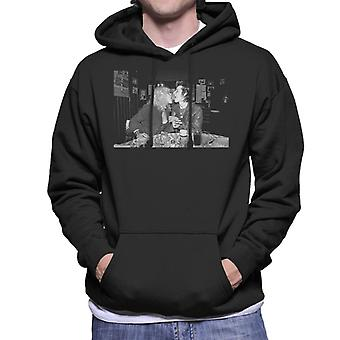 Sid Vicious And Nancy Spungen London 1978 Men's Hooded Sweatshirt