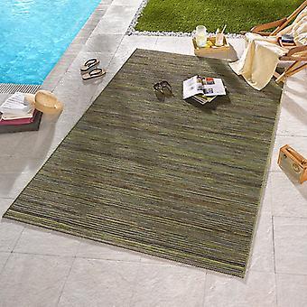 Design Outdoorteppich Lotus grøn mix | 102442